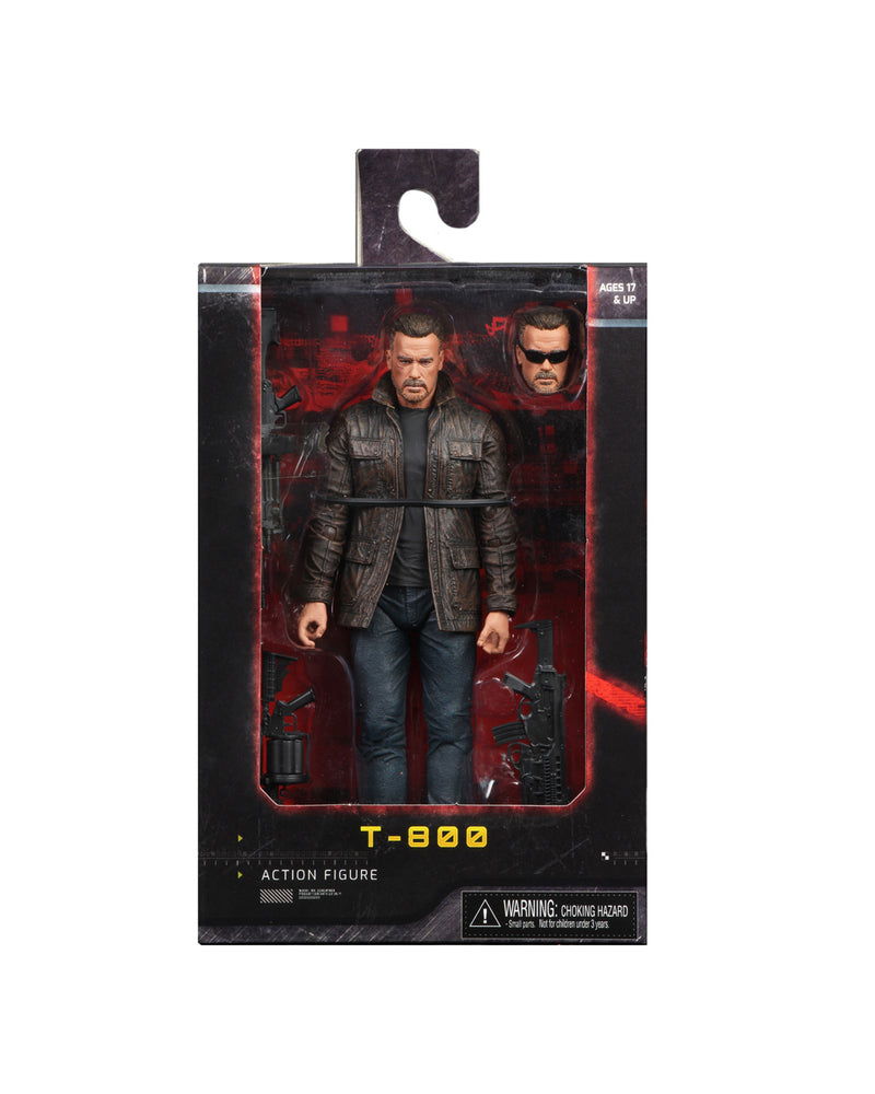 Terminator Action Figure - T-800 from Dark Fate (2019) 7 Inch Scale by NECA