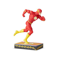 The Flash Statue by Jim Shore (Classic Silver Age - Carved Style)
