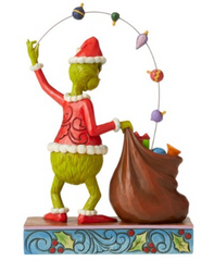The Grinch Christmas Figurine (Jim Shore) - Christmas Juggling