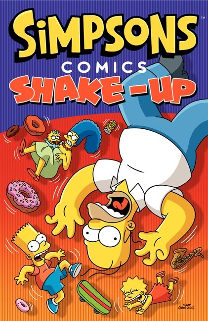 SIMPSONS COMICS - SHAKE UP TRADE PAPERBACK COLLECTION
