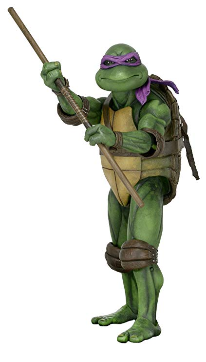 TMNT (1990) Donatello Action Figure 7 Inch Scale by NECA