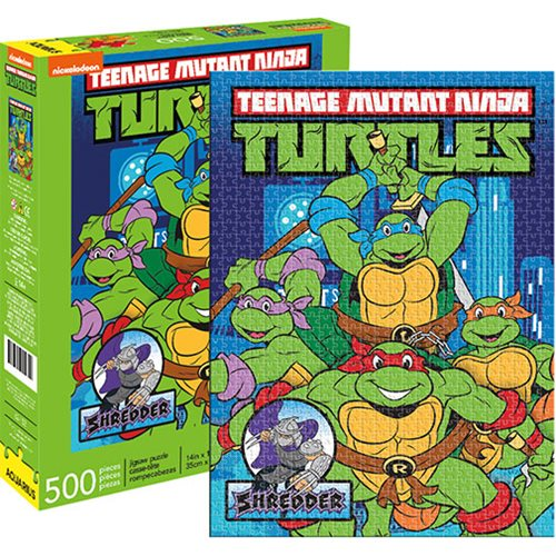 Teenage Mutant Ninja Turtles Puzzle - Classic New York (500 Pieces)
