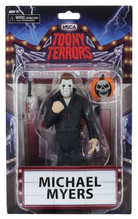 Toony Terrors - Halloween 2 (Sequel) Michael Myers 6 Inch Action Figure by NECA