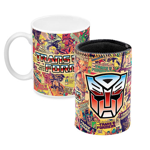 Transformers Gift Set - Coffee Mug & Stubby Holder