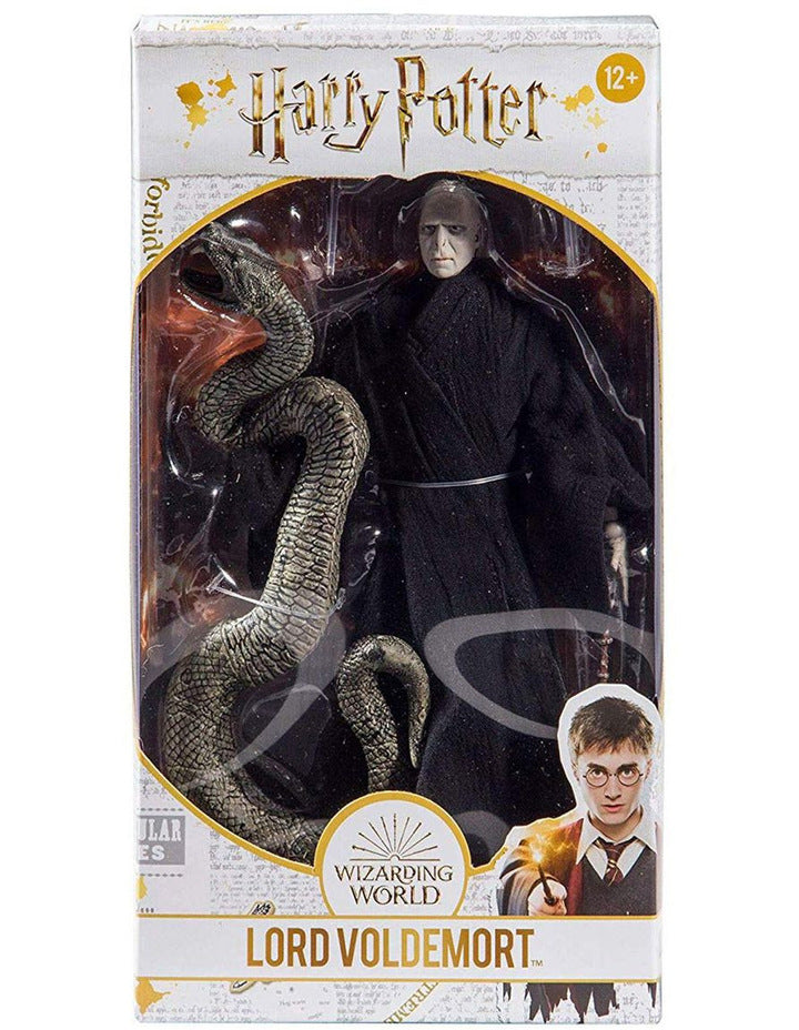 Harry Potter Action Figure - Voldemort with Nagini (McFarlane Toys 7 Inch Scale)