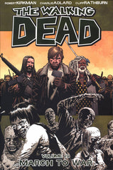 WALKING DEAD TRADE PAPERBACK VOLUME 19 MARCH TO WAR