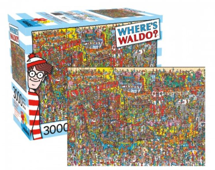 Wheres Waldo / Wally Puzzle - World Traveler (3000 Pieces)