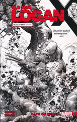 WOLVERINE OLD MAN LOGAN TRADE PAPERBACK VOLUME 06 DAYS OF ANGER (BLACK AND WHITE SPECIAL EDITION)