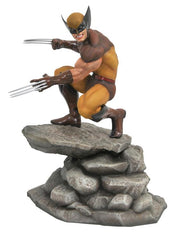 X-Men: Wolverine Statue - 23cm PVC Marvel Gallery (Comic Brown Costume)