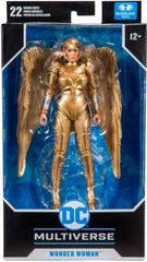 Wonder Woman Action Figure - 7 Inch from 1984 (Gold Costume) by McFarlane Toys
