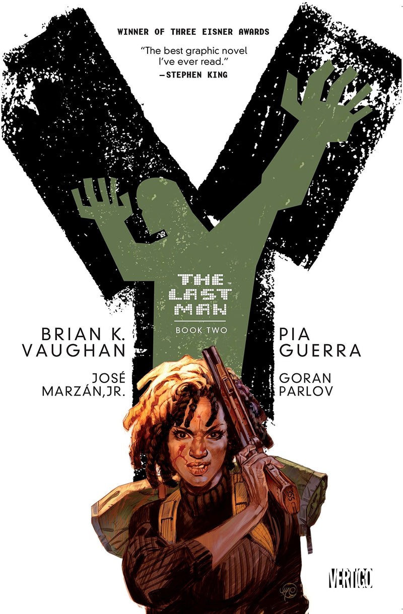 Y THE LAST MAN TRADE PAPERBACK BOOK 02