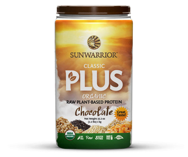 Sunwarrior Classic PLUS Chocolate 1kg