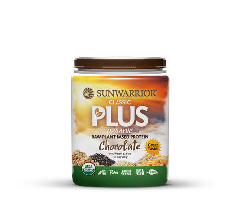 Sunwarrior Classic PLUS Chocolate 500g