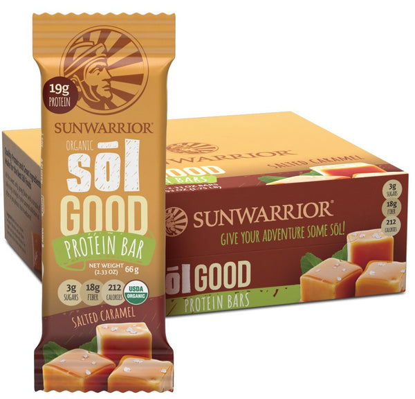 Sol Good Bars Salted Caramel 12pk