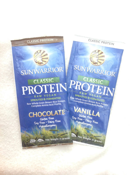 2 x Vanilla Rice Protein 21 gm sampler