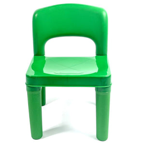 Sensational Kids Chair For Build Blocks Lego Play Table Green Buy Download Free Architecture Designs Sospemadebymaigaardcom