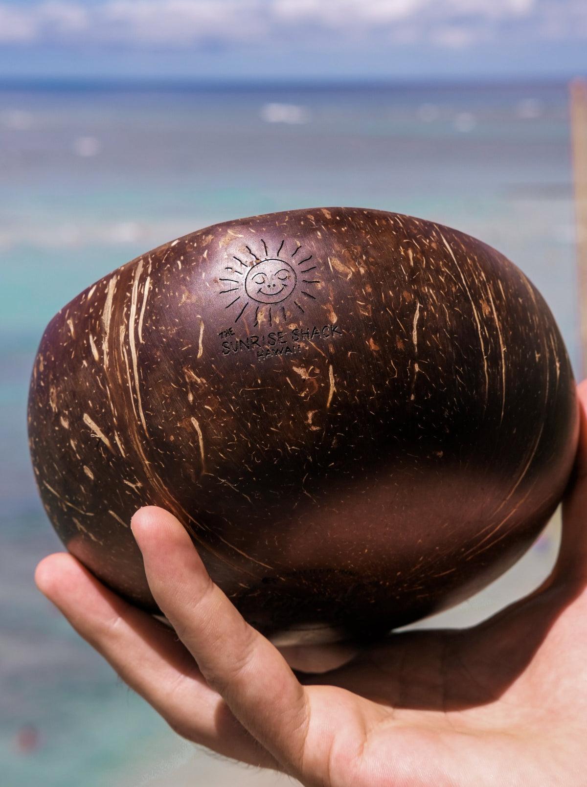 detailed picture of coconut bowl