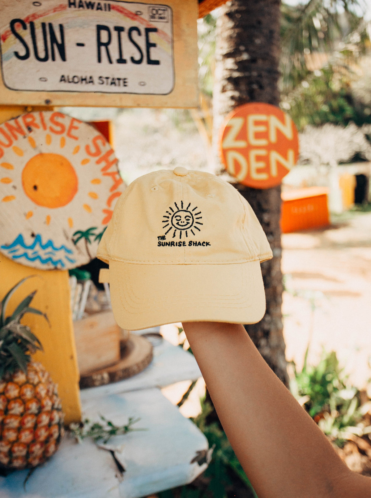 The Sunrise Shack Logo Hat