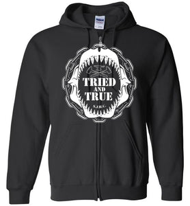 Tried And True Zip Up Hoodie