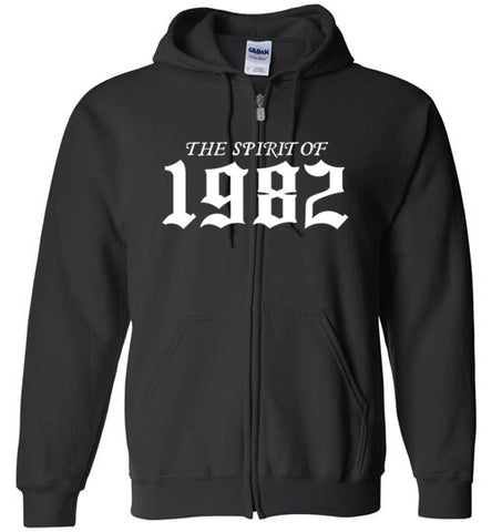 Spirit of 1982 Zip Up Hoodie