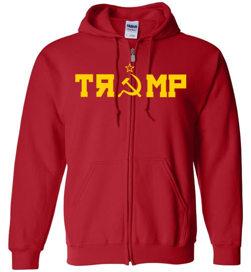 Russian Takeover Zip Up Hoodie
