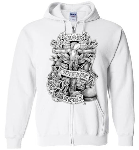 CCM Crucified Zip Up Hoodie