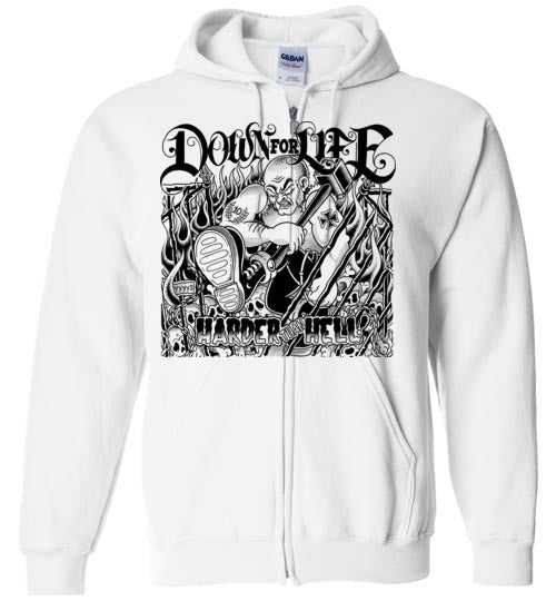 Down For Life Zip Up Hoodie