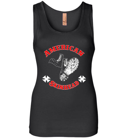 American Skinhead Black Tank Top Ladies' t-Shirt