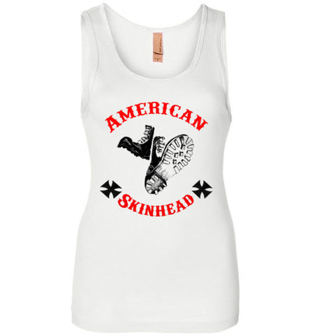 American Skinhead Classic Boots Tank Top Ladies' T-Shirt