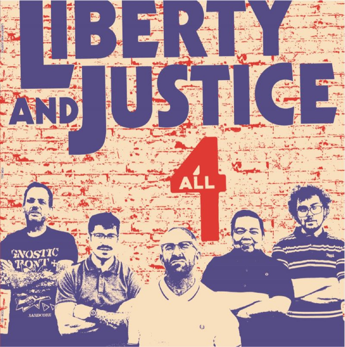 Liberty And Justice - 4 All CCM LP