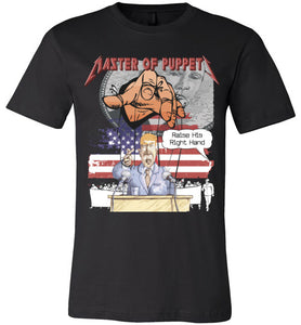 Master Of Puppets Mens' Misc T-Shirt
