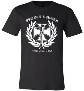 Broken Heroes Crucified Unisex T-Shirt