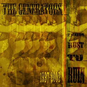 The Generators - Rust To Ruin CD DISTRO CD