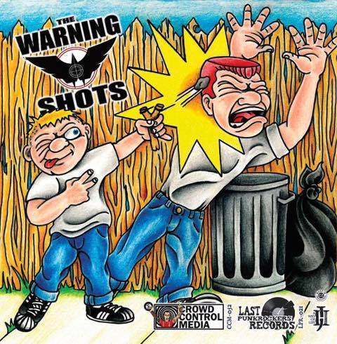 "Antagonizers ATL / Warning Shots Split 7"" CCM EP"