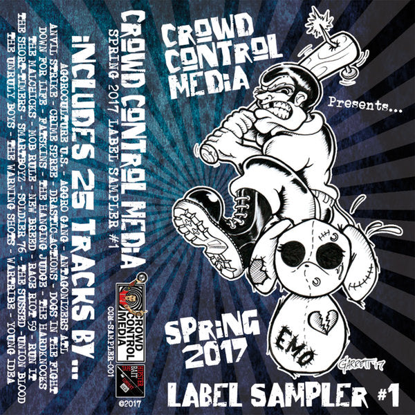 Spring 2017 Label Sampler CCM Tape