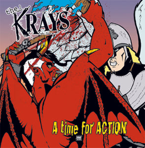 The Krays - A Time For Action LP DISTRO LP