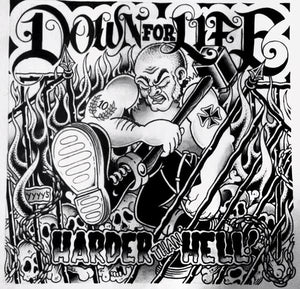Down For Life - Harder Than Hell CCM LP
