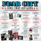 "Fear City - Our Way Of Life  ""10th Annivessary Edition""  LP CCM LP"