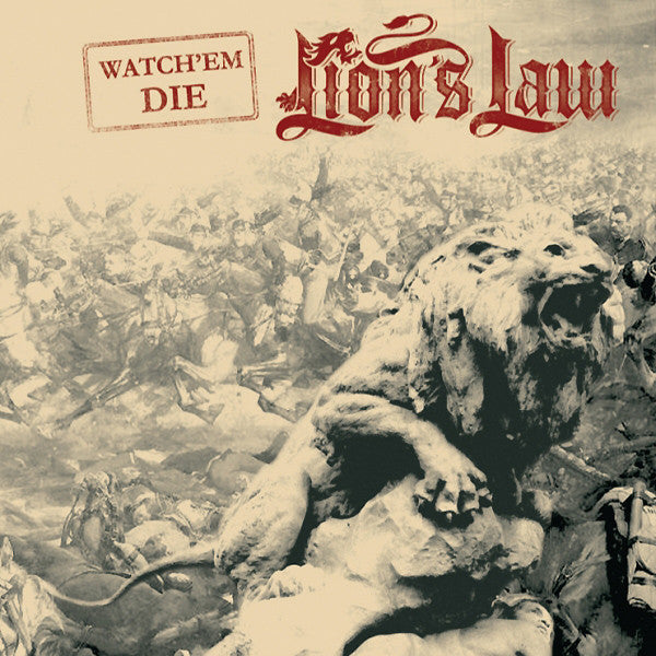 Lion's Law - Watch Em Die DISTRO EP