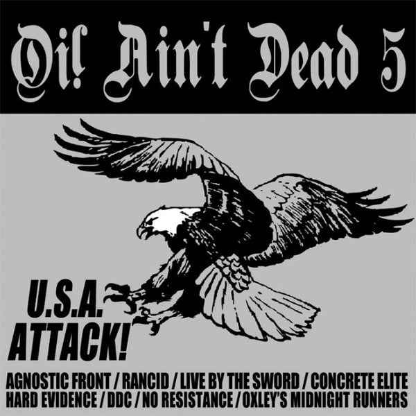 v/a - Oi! Ain't Dead 5 - USA Attack! LP DISTRO LP