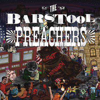 The Bar Stool Preachers - Blatant Propaganda DISTRO LP