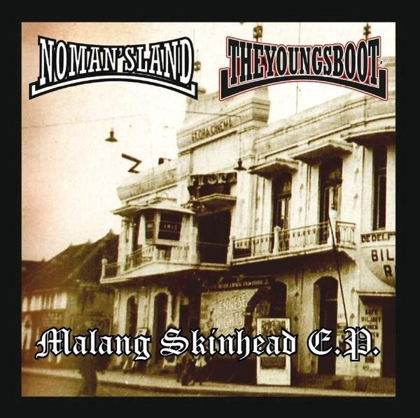 No Man's Land / The Youngsboot- Malang Skinhead E.P. DISTRO EP