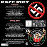 Race Riot 59 - Smash Nazis (Cassette Tape, Limited to 100 hand #'d Pieces) CCM Cassette