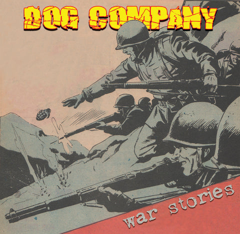 "Dog Company - War Stories 10"" with CD DISTRO MLP"