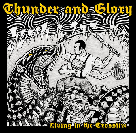 Thunder And Glory - Living In The Crossfire DISTRO MLP