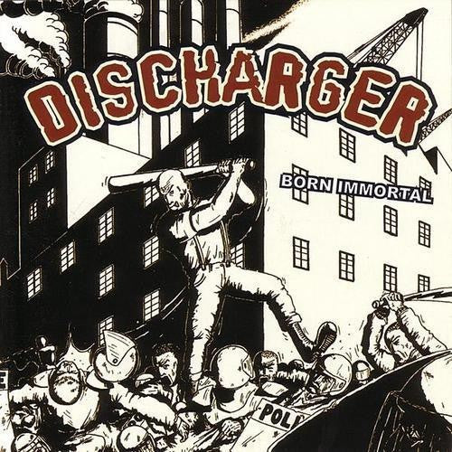 Discharger - Born Immortal LP DISTRO LP