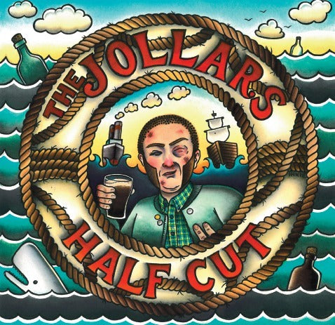 The Jollars - Half Cut DISTRO CD