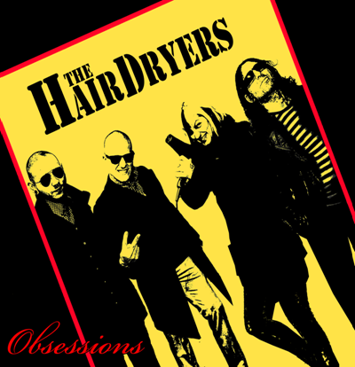 "The Hairdryers - Obsessions 10"" DISTRO MLP"