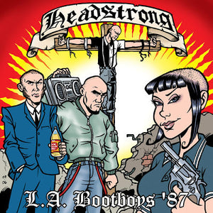 Headstrong - L.A. Bootboys DISTRO CD