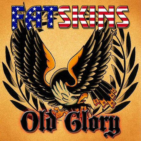 "Fatskins / Old Glory Split 7"" CCM EP"